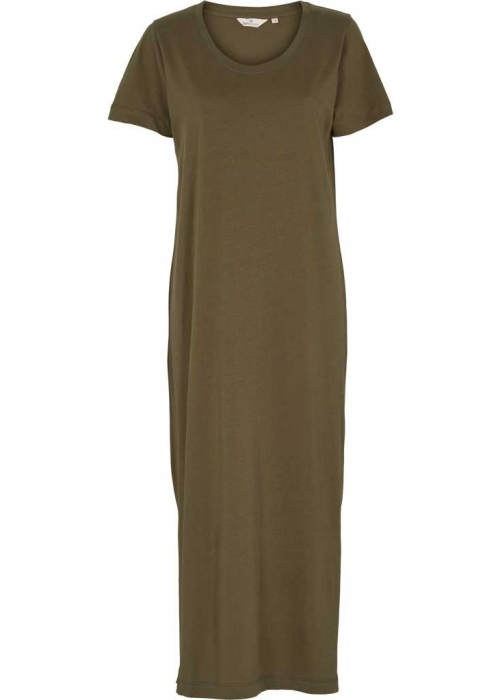 Rebecca dress organic ARMY Preorder Levering Marts