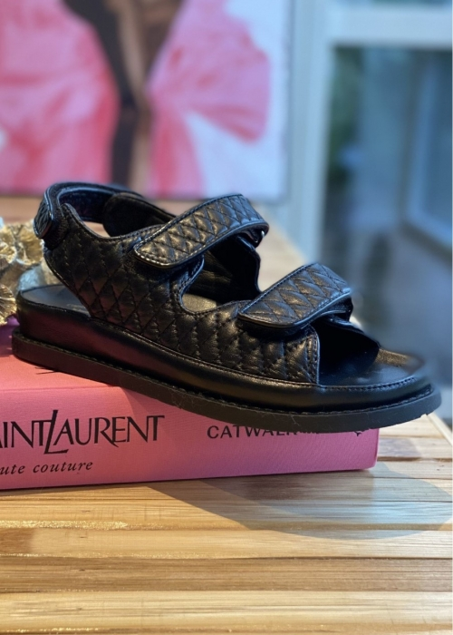 Copenhagen shoes Luxury sandal BLACK (Preorder Levering April)