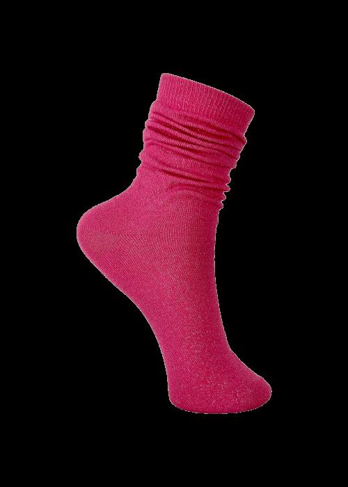 Lurex sock PINK