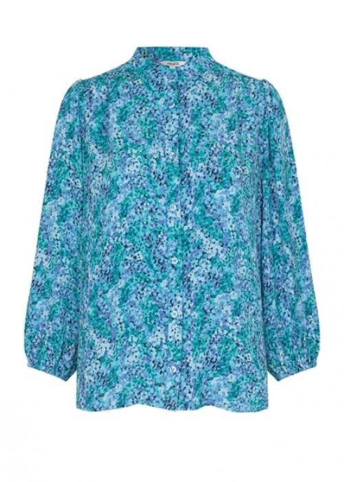 Solstice shirt blouse BLUE PRINT