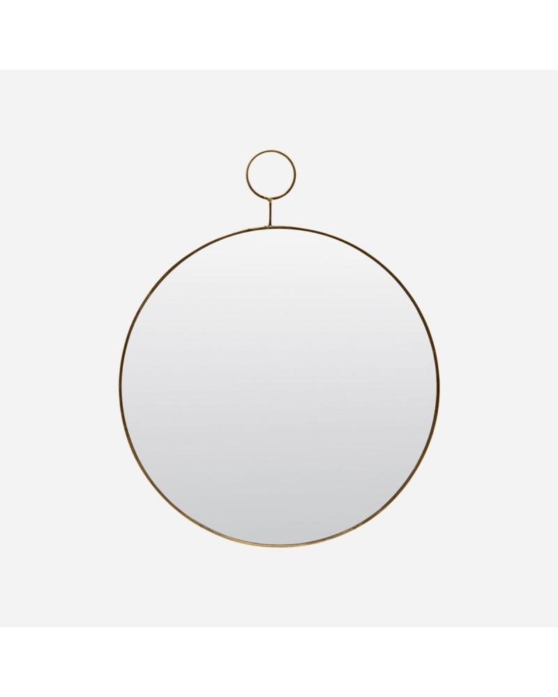 Mirror, Loop MESSING Rundt 38 cm.