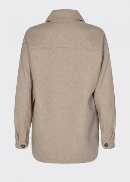 Savisa overshirt jacket SAND