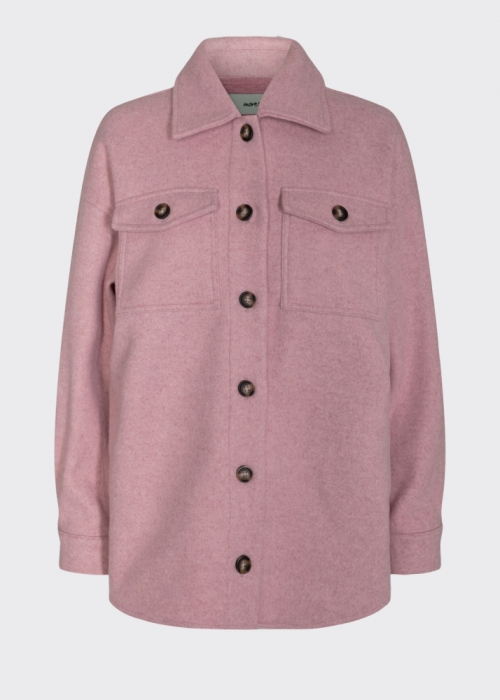 Savisa overshirt jacket DUSTY PINK