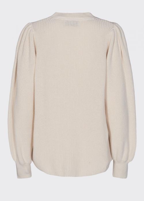 Edora knit blouse IVORY