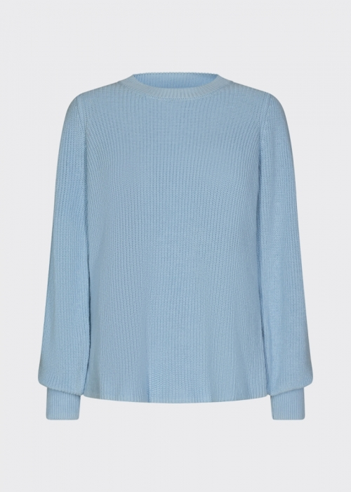 Edora knit blouse LIGHT BLUE