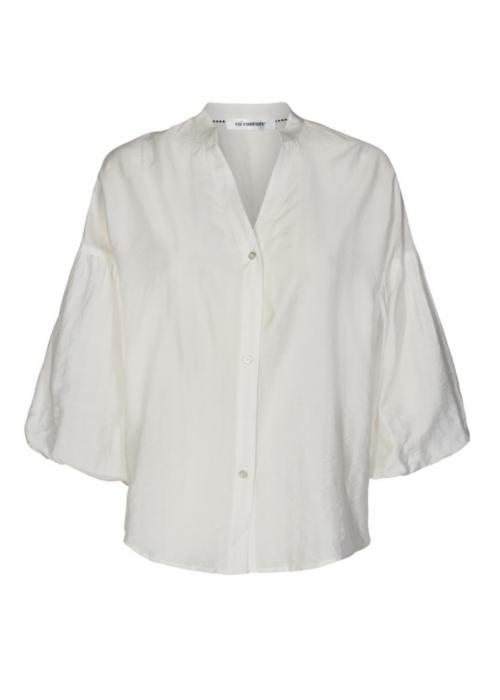 Avery Baloon Shirt WHITE