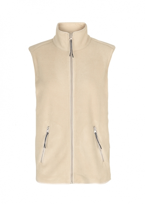 Ami fleece vest SAND