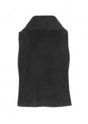 Bernetta fleece vest BLACK