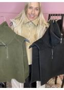 Bernetta fleece vest ARMY