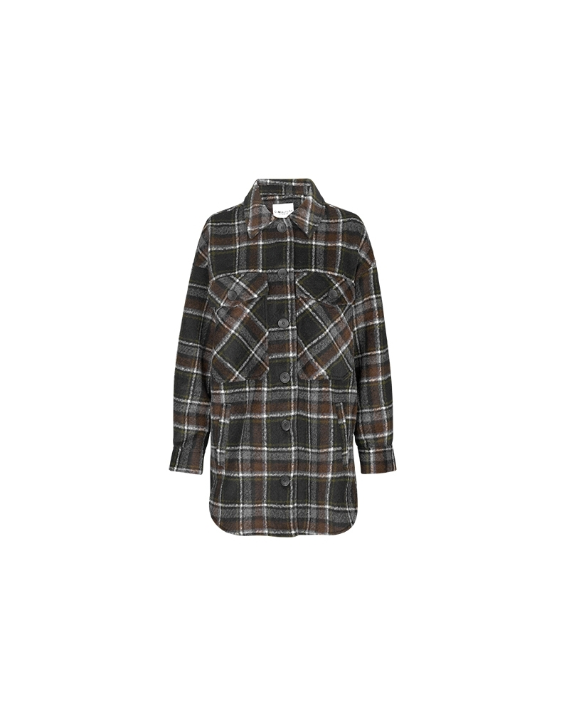 Josseline jacket BLACK BROWN