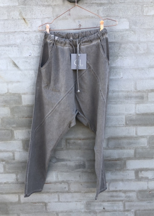 Baggy pant 16089 WASHED FANGO