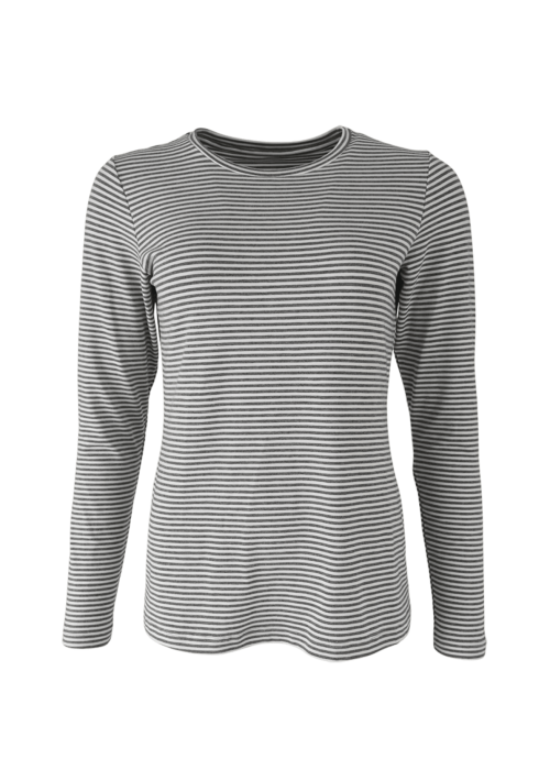 Penny L/S striped t-shirt GREY