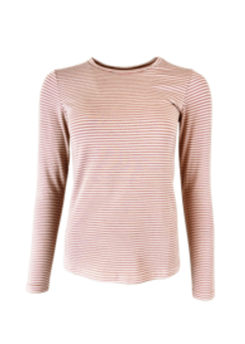 Penny L/S striped t-shirt ROSE