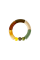 Fenja tube bracelet OLIVE