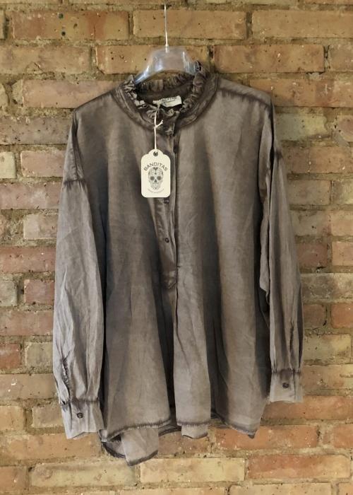 Virginia blouse CAMEL