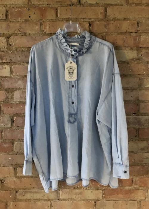 Virginia blouse LIGHT BLUE