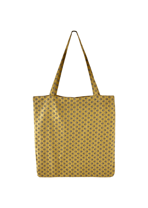 Lulu cotton shopper YELLOW BLOSSOM