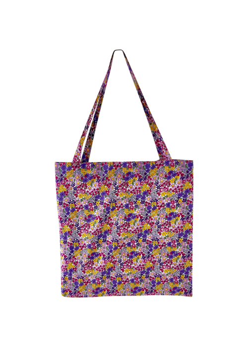 Lulu cotton shopper LT. PURPLE BLOSSOM