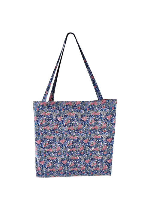 Lulu cotton shopper BLUE BLOSSOM