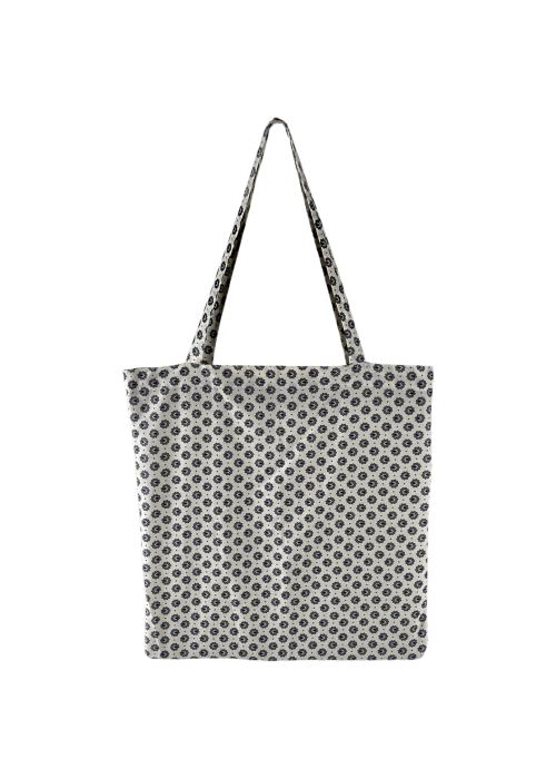 Lulu cotton shopper WHITE BLOSSOM