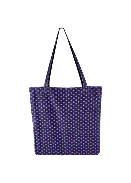 Lulu cotton shopper PURPLE BLOSSOM