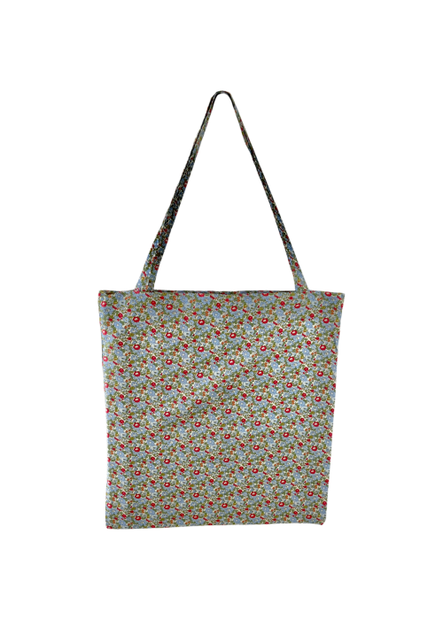 Lulu cotton shopper OLIVE BLOSSOM