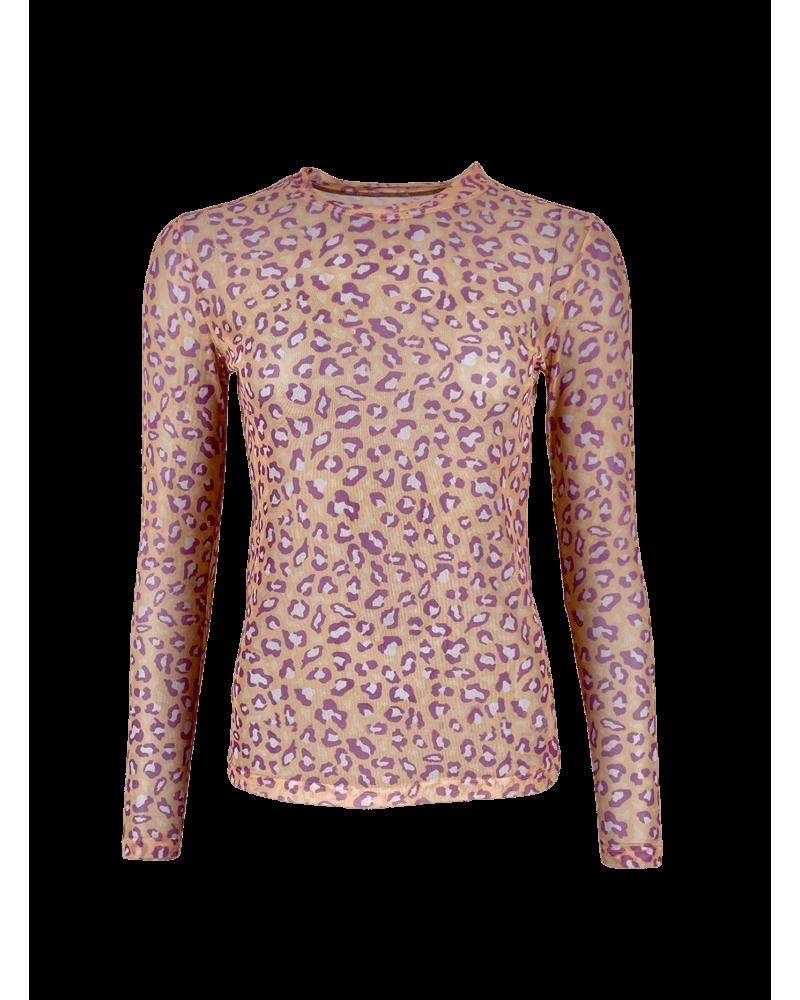 Florence mesh blouse PEACH LEO