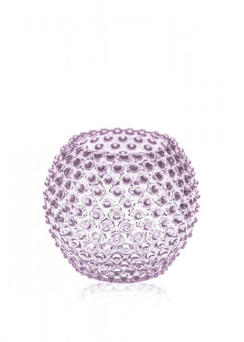 Hobnail Globe Vase 18 cm. LILLA