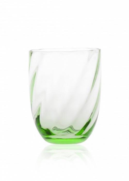Swirl tumbler drikkeglas LIGHT GREEN
