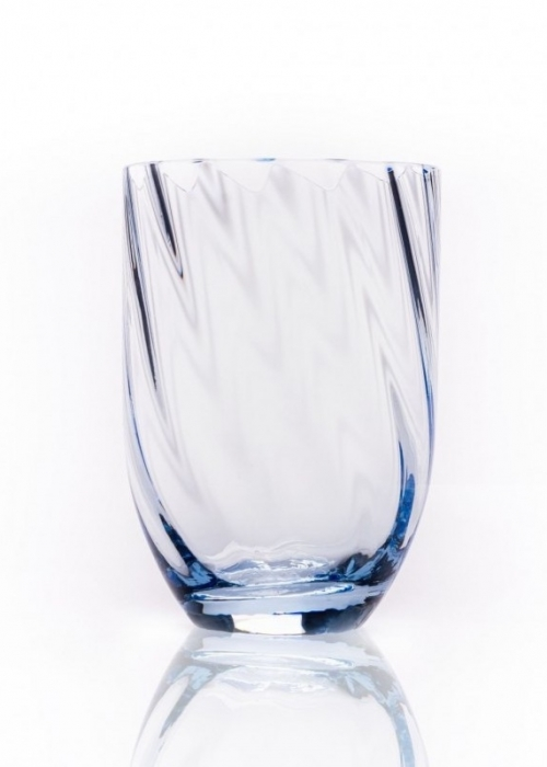 Swirl tumbler drikkeglas LIGHT BLUE
