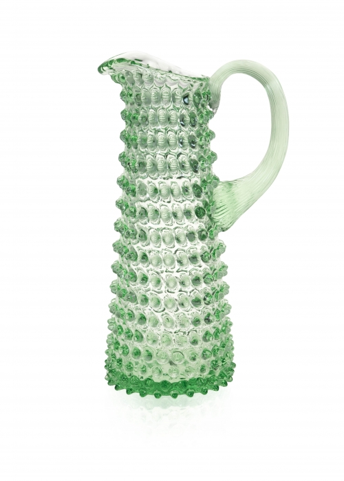Eiffel Hobnail Jug 1 L. LIGHT GREEN