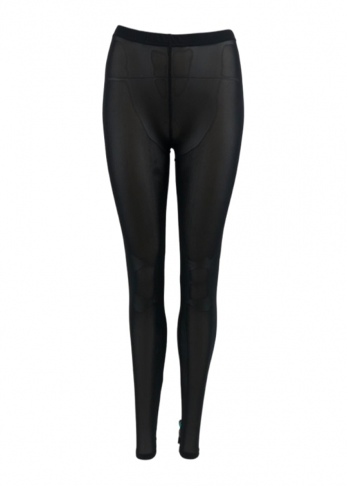 Annie mesh leggings BLACK