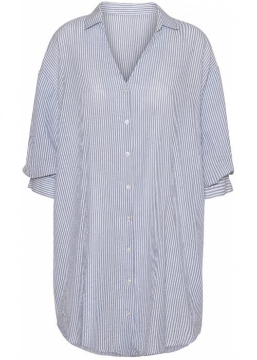 Carrie shirt dress BLUE STRIPE