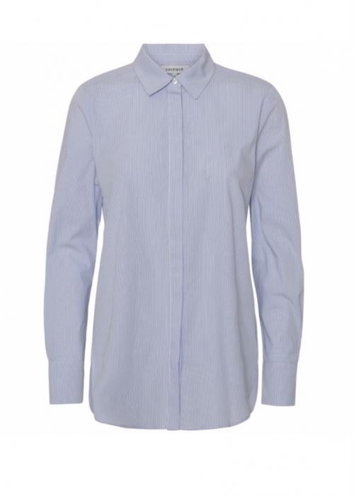 Melia solid shirt BLUE STRIPE