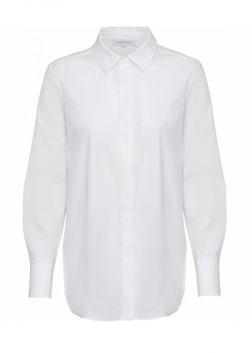 Melia solid shirt WHITE