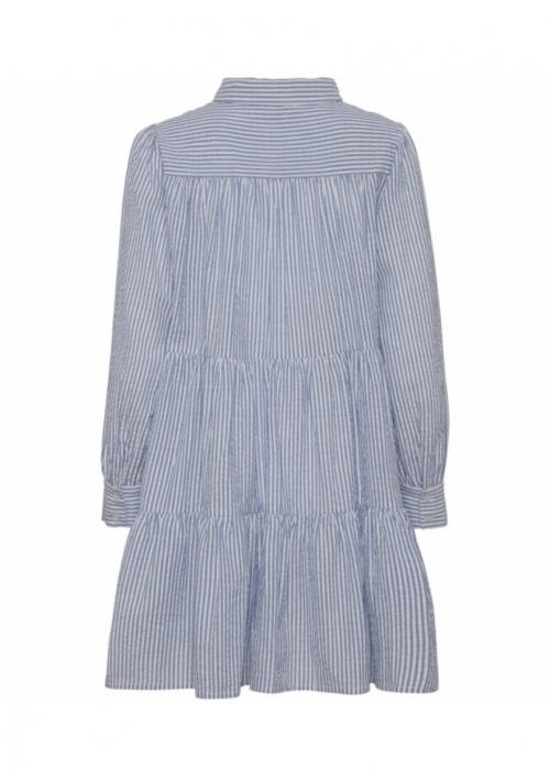Jeanne stripe dress BLUE STRIPE