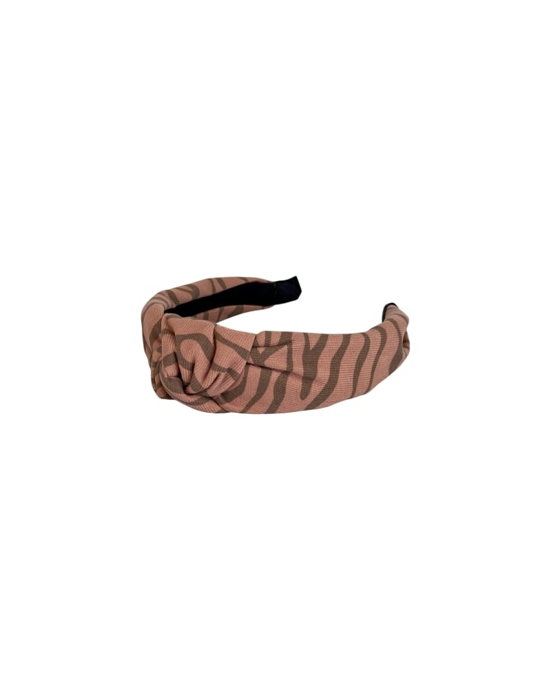 Desiré zebra printed headband PEPE ROSE