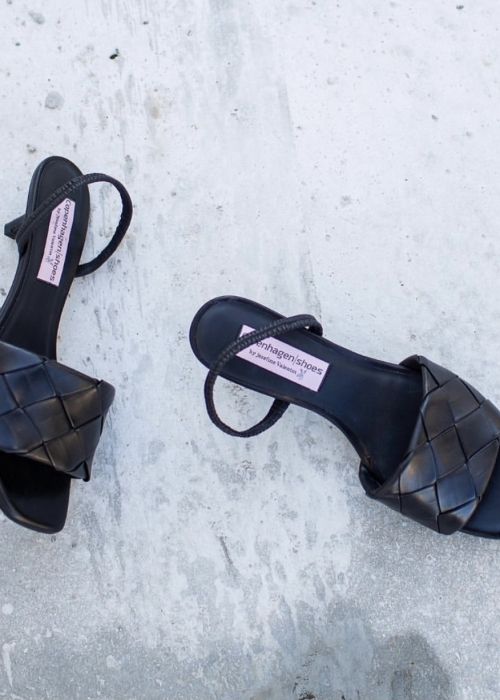 Monday Morning sandal BLACK