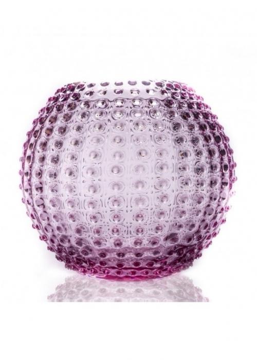 Hobnail Globe Vase 24 cm. LILLA