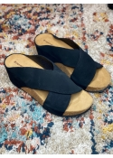 Frances sandal BLACK