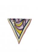 Alaya plissé mini scarf CANDY