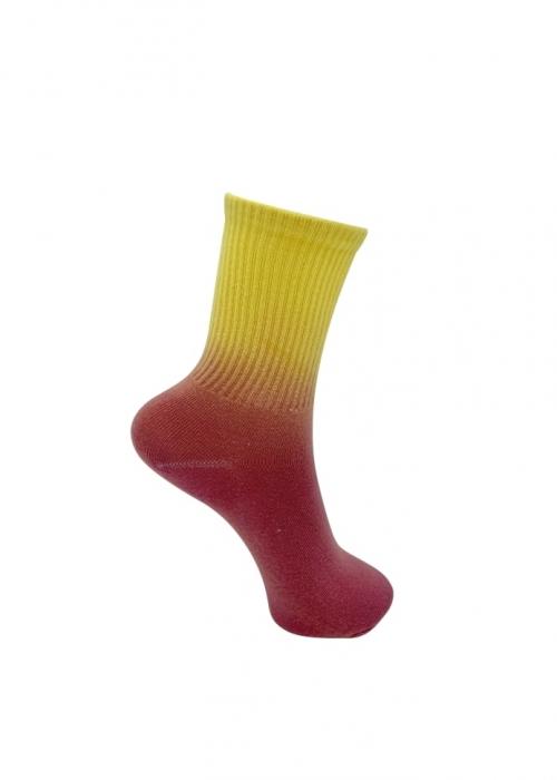 Vegas tie dye sock ORANGE GRADING