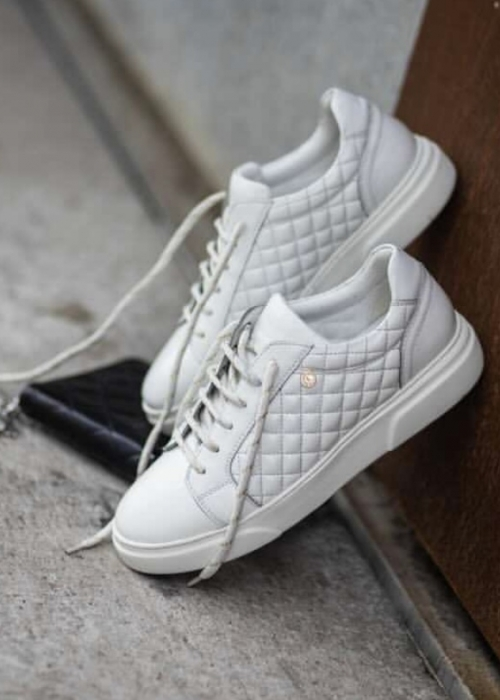 Dressed sneakers WHITE