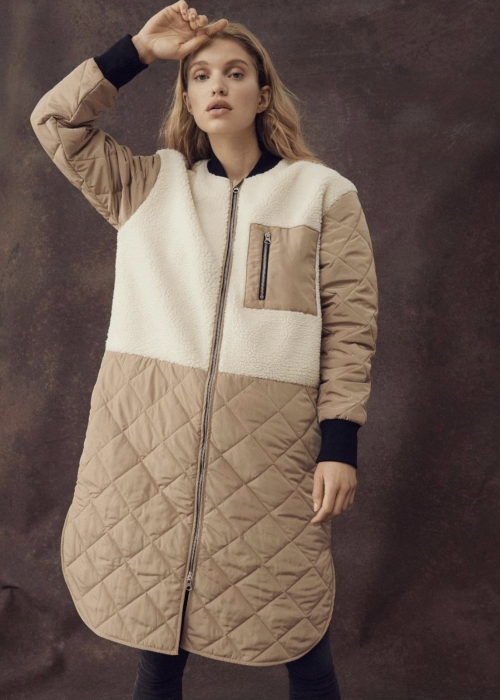 Kiara Jacket CORNSTALK / EGRET