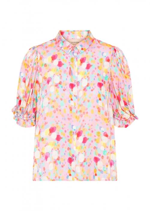 Luisa shirt PINK BOBBLES