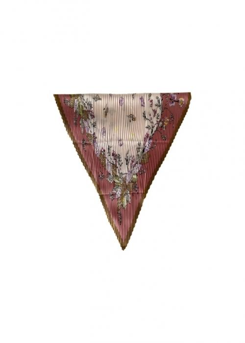 Effy plissé mini scarf PEPE ROSE