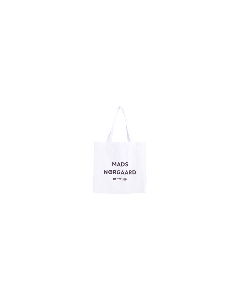 Recycled boutique athene bag WHITE