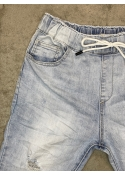 Cool ripped jeans LIGHT WASH