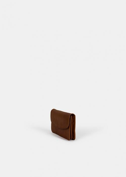 Marli big urban wallet WALNUT