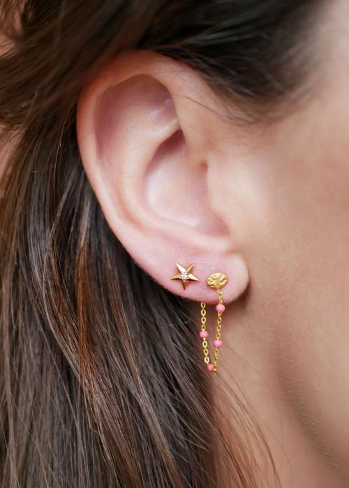 Lola earring LIGHT PINK